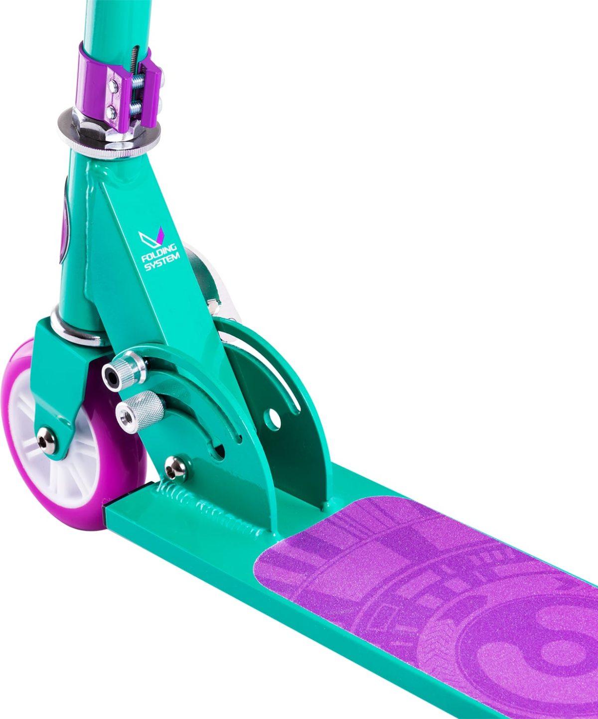 RIDEX Sonic Самокат 2-колесный  100 мм  Sonic: фиолетовый - 2