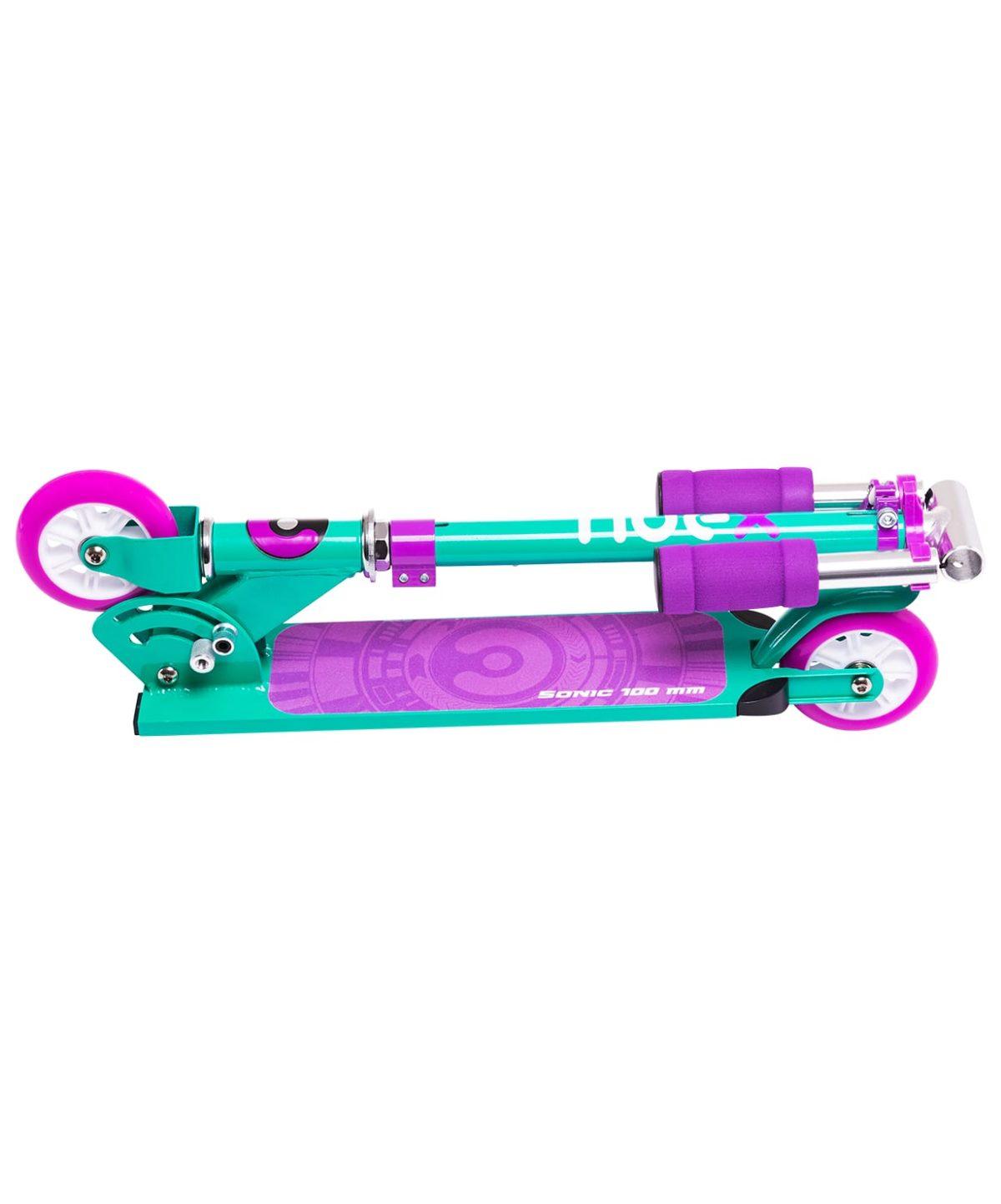 RIDEX Sonic Самокат 2-колесный  100 мм  Sonic: фиолетовый - 5
