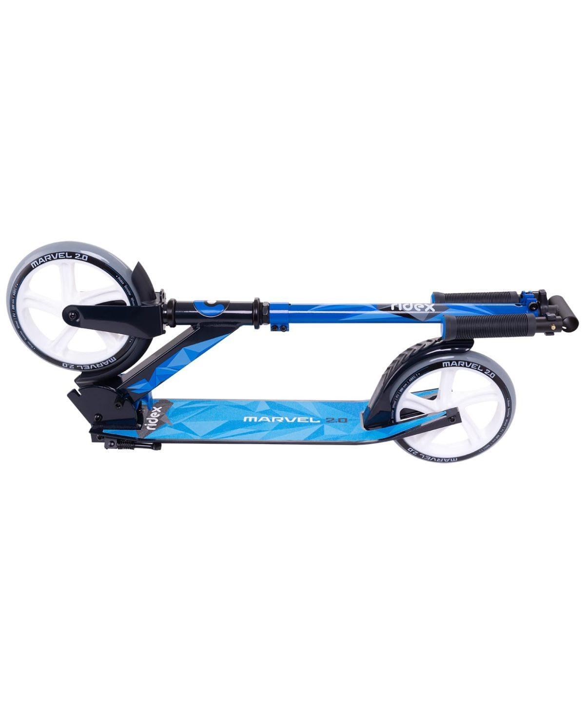 RIDEX Marvel Самокат 2-х колесныйи 200 мм  Marvel: синий/черный - 5