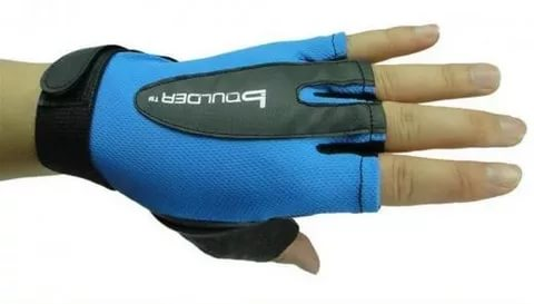 BOULDER Перчатки для фитнеса HW-306: голубой - 1