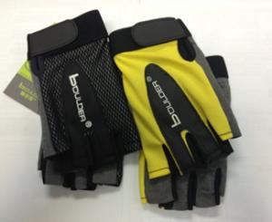 BOULDER Перчатки для фитнеса HW-306: жёлтый - 1