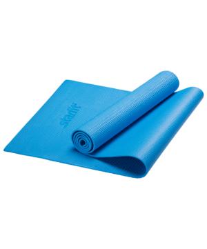 STARFIT Коврик для йоги FM-101 173х61х0,6 см: синий - 6