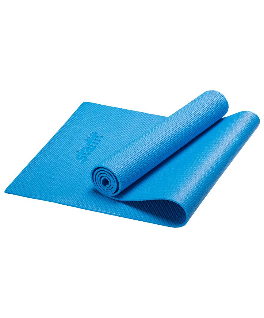 STARFIT Коврик для йоги FM-101 173х61х0,6 см: синий - 1