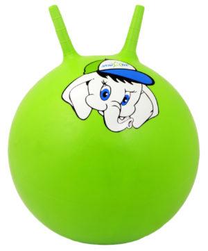 """STARFIT Мяч попрыгун """"Слоненок"""",45см GB-401 слоненок: зелёный - 5"""