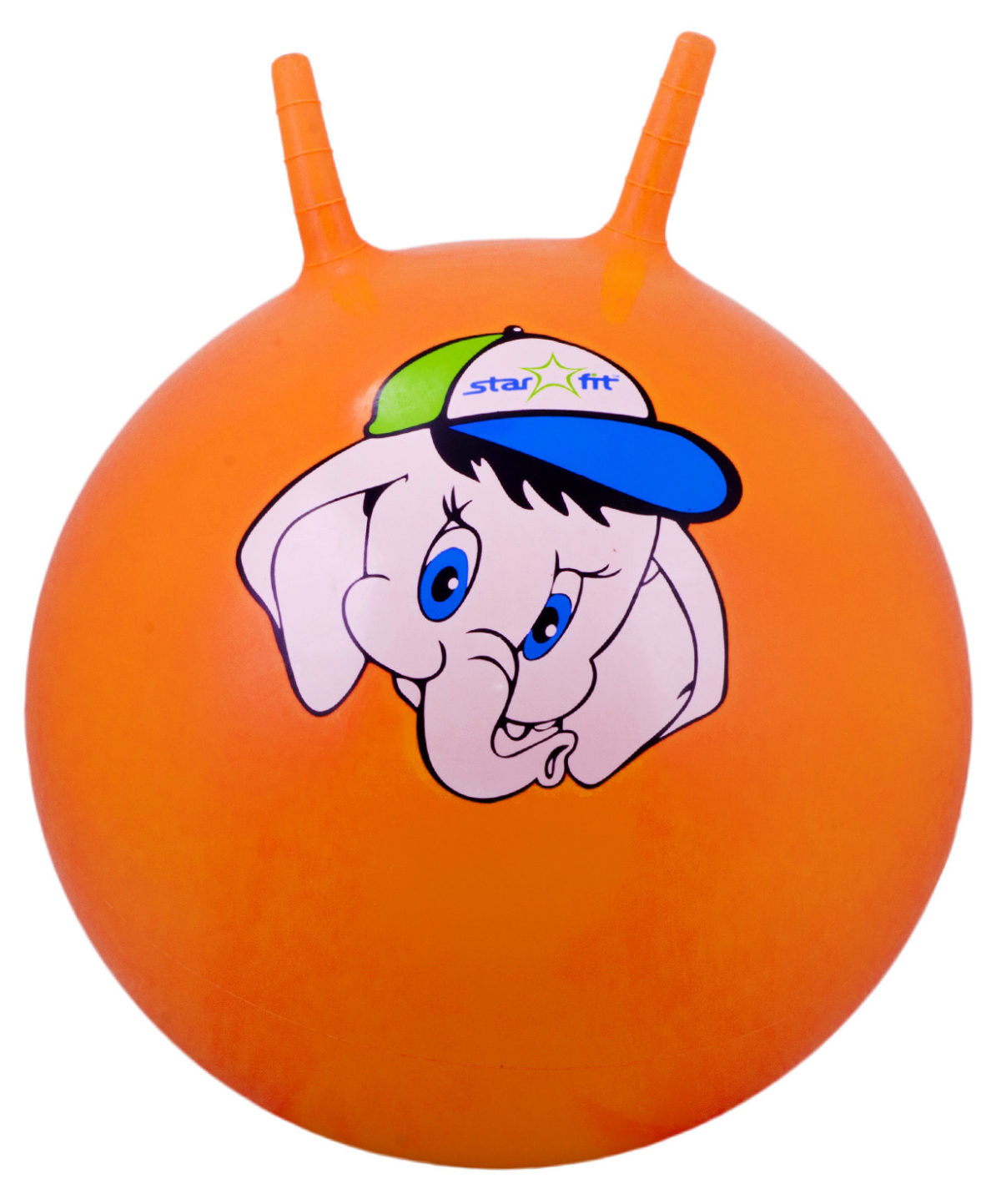 "STARFIT Мяч попрыгун ""Слоненок"",45см GB-401 слоненок: оранжевый - 1"