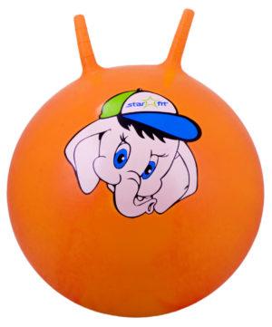 "STARFIT Мяч попрыгун ""Слоненок"",45см GB-401 слоненок: оранжевый - 6"
