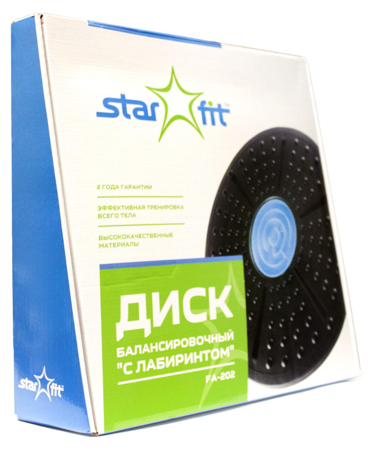 STARFIT Диск балансировочный с лабиринтом FA-202 - 3