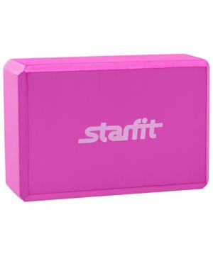 STARFIT Блок для йоги EVA FA-101: розовый - 4
