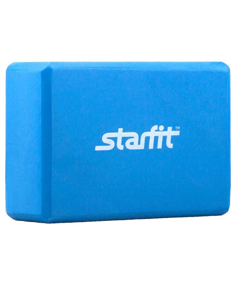 STARFIT Блок для йоги EVA FA-101: синий - 1