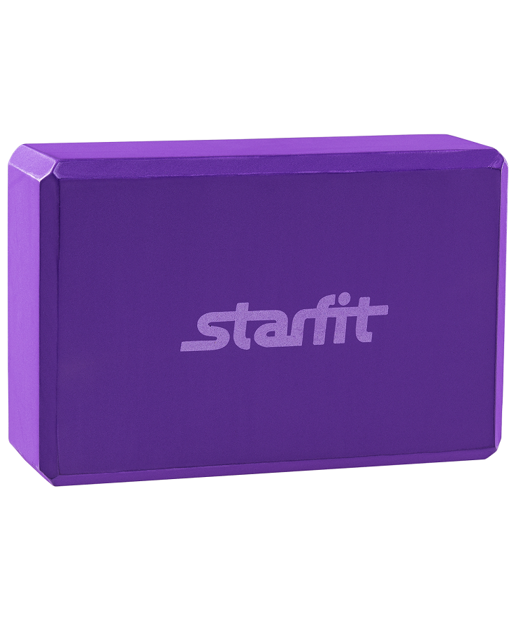 STARFIT Блок для йоги EVA FA-101: фиолетовый - 1