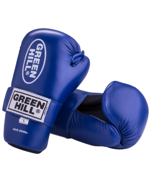 GREEN HILL Накладки для карате 7-contact  SCG-2048: синий - 2