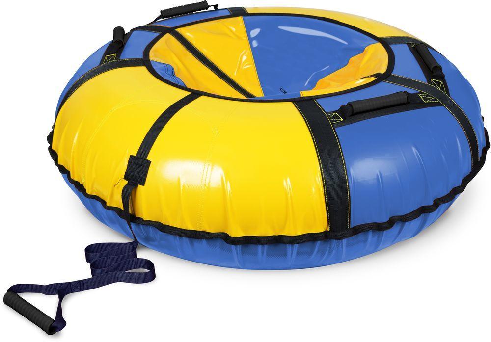 NIKA Тюбинг  ТБ1К-110: синий/желтый - 1