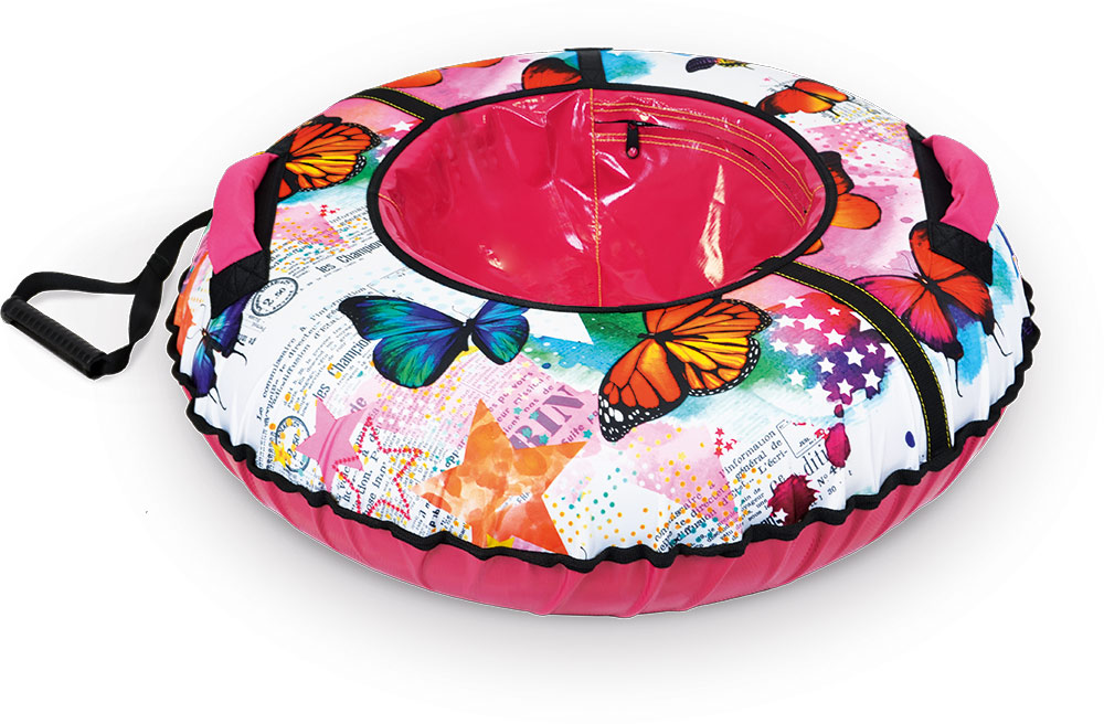 NIKA Тюбинг  ТБ2К-95: бабочки - 1