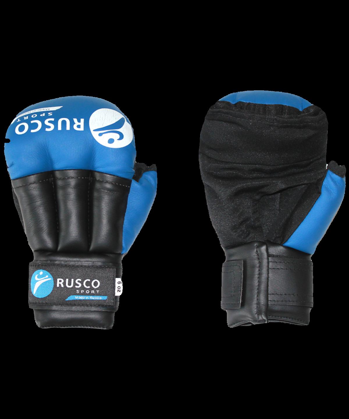 RUSCO перчатки для рукопашного боя  9845: синий - 1