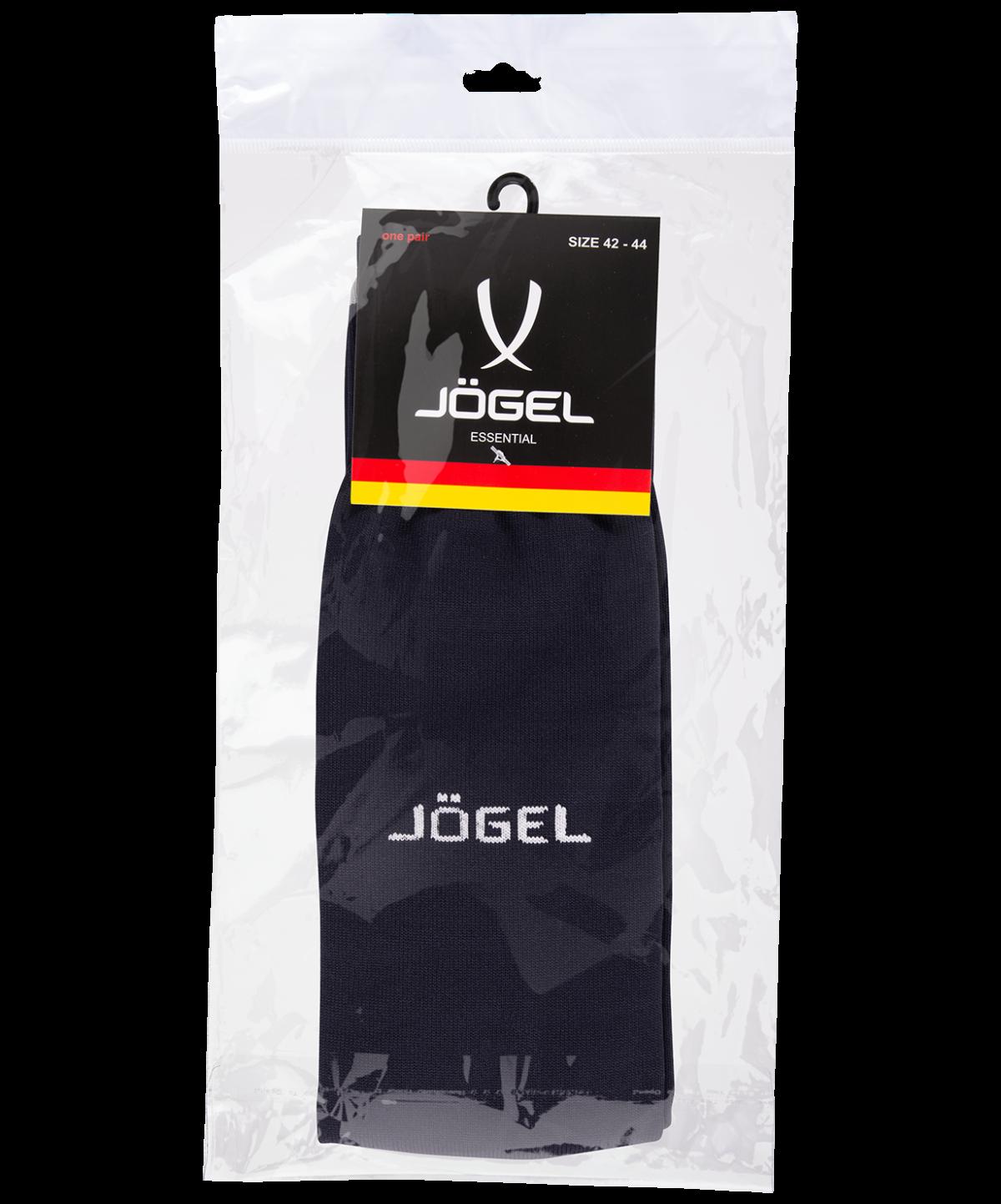 JOGEL Гетры футбольные Essentiаl, черный/серый  JA-006 - 4