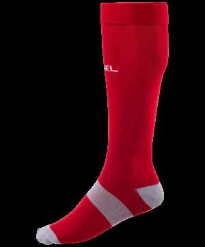 JOGEL Гетры футбольные Essentiаl, красный/серый  JA-006 - 6