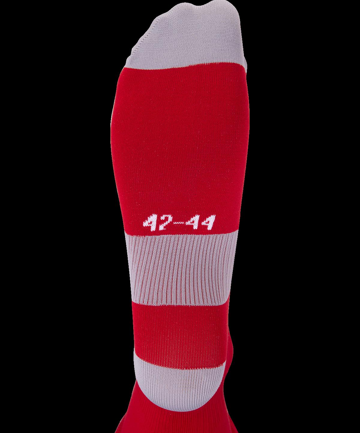 JOGEL Гетры футбольные Essentiаl, красный/серый  JA-006 - 3