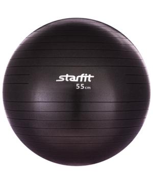 STARFIT Мяч гимнастический антивзрыв  55см GB-101: чёрный - 6
