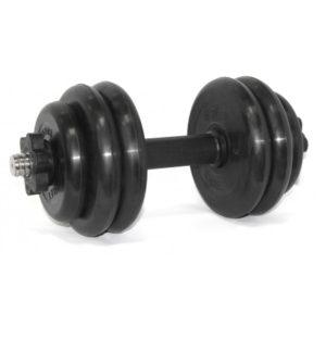 BARBELL Гантель разборная 25мм., 14 кг. MB-FdbM-At14 - 10