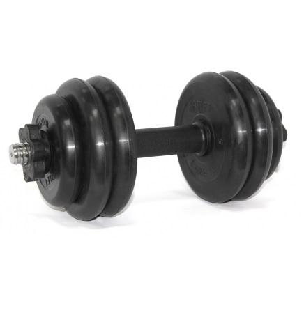 BARBELL Гантель разборная 25мм., 14 кг. MB-FdbM-At14 - 1