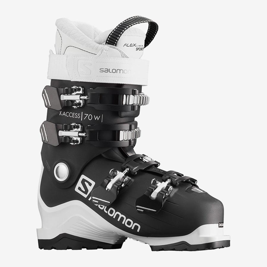 SALOMON X ACCESS 70 W WIDE JET BLACK Ботинки горнолыжные L40851000 - 1