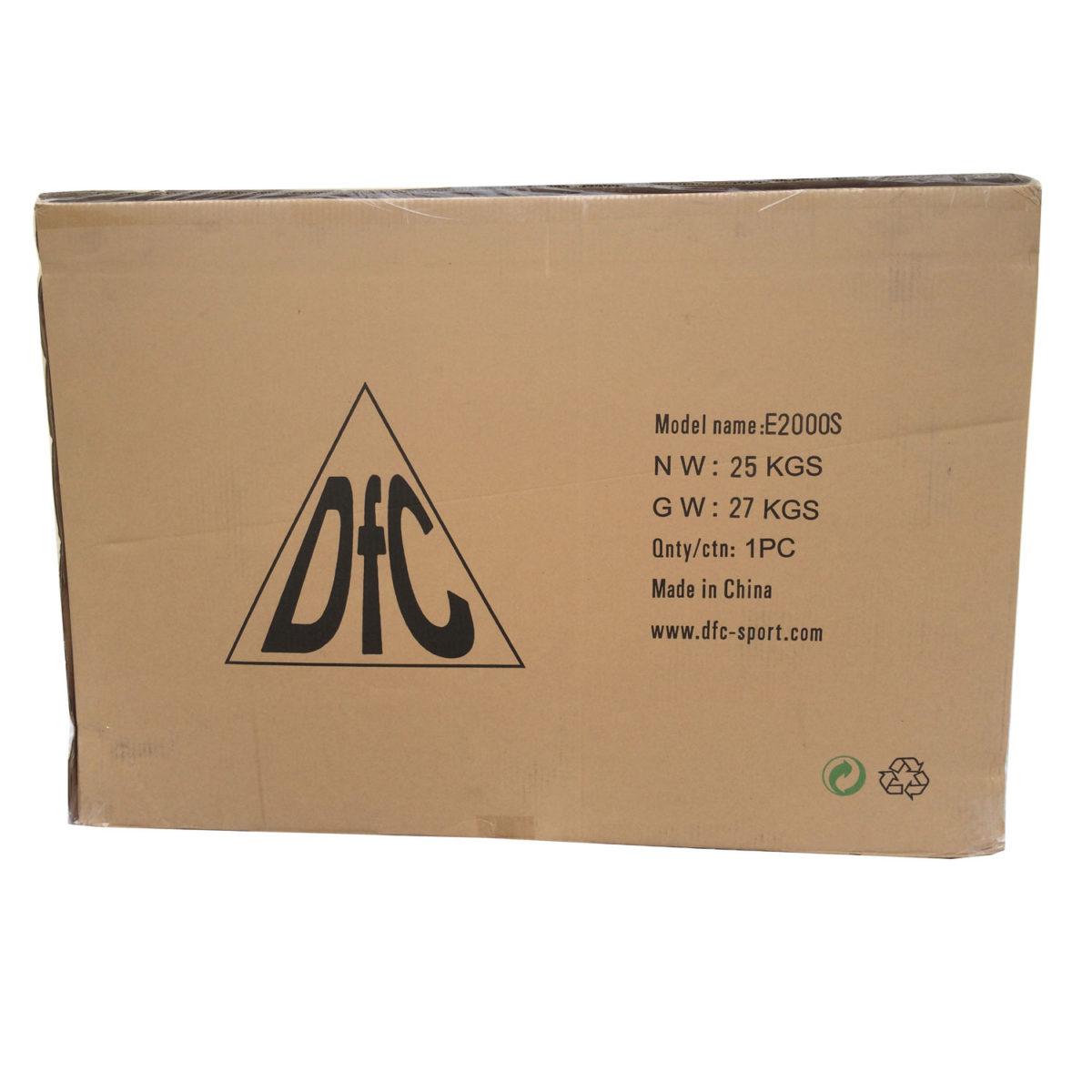 DFC эллиптический тренажер с сиденьем - 4