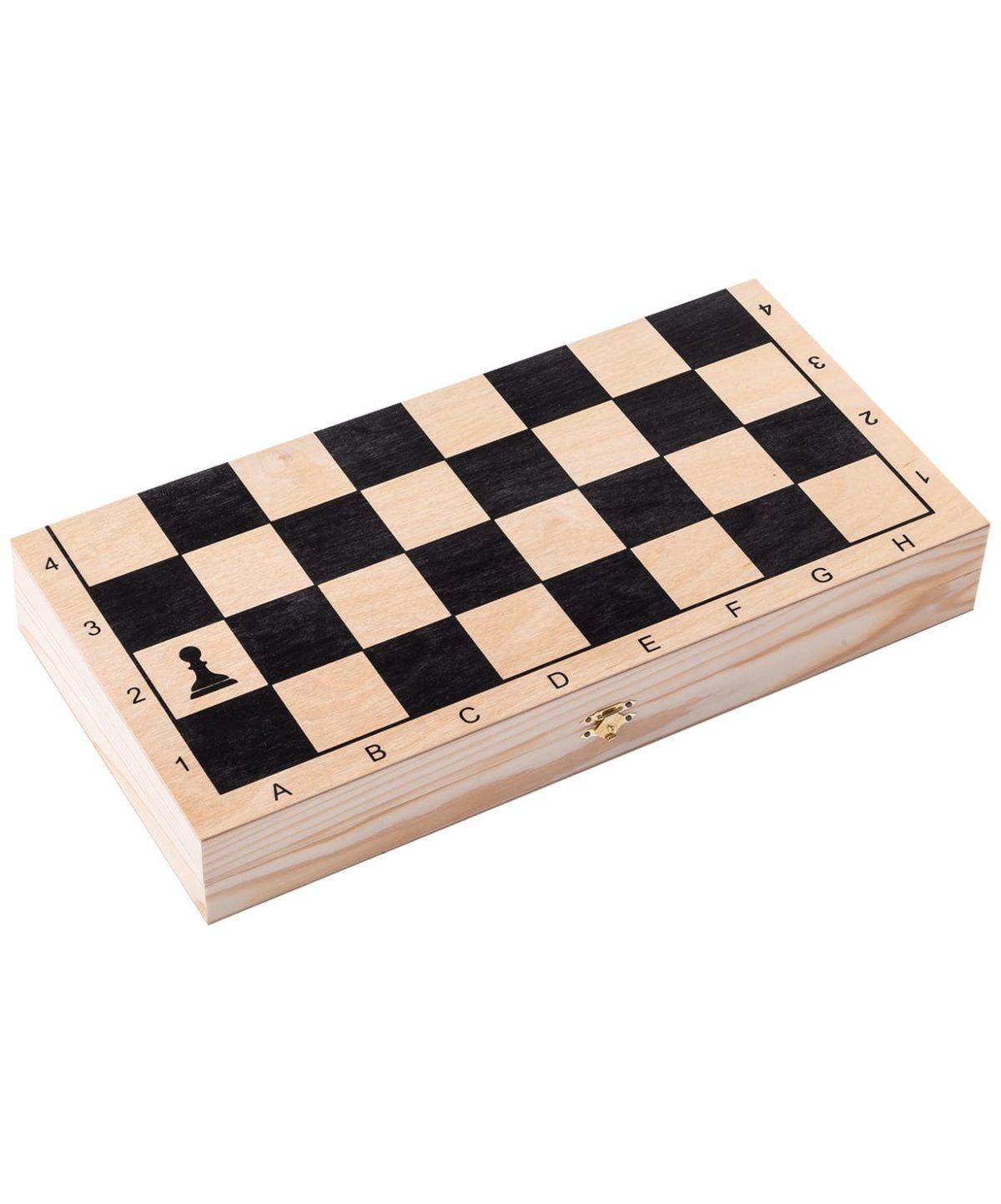 """Игра 3 в 1 малая """"Классика"""" дерево  341-19 - 2"""
