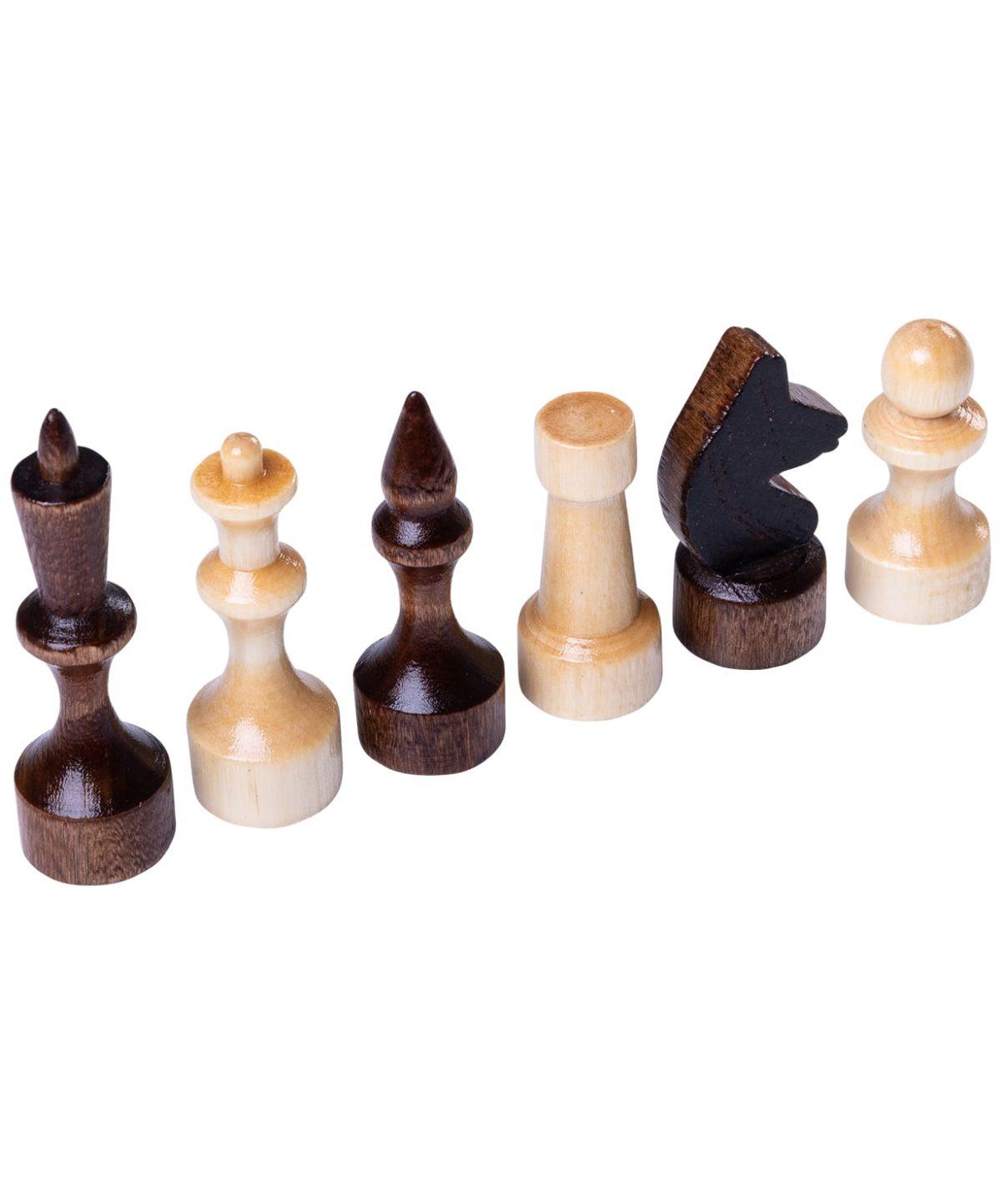 """Игра 3 в 1 малая """"Классика"""" дерево  341-19 - 3"""