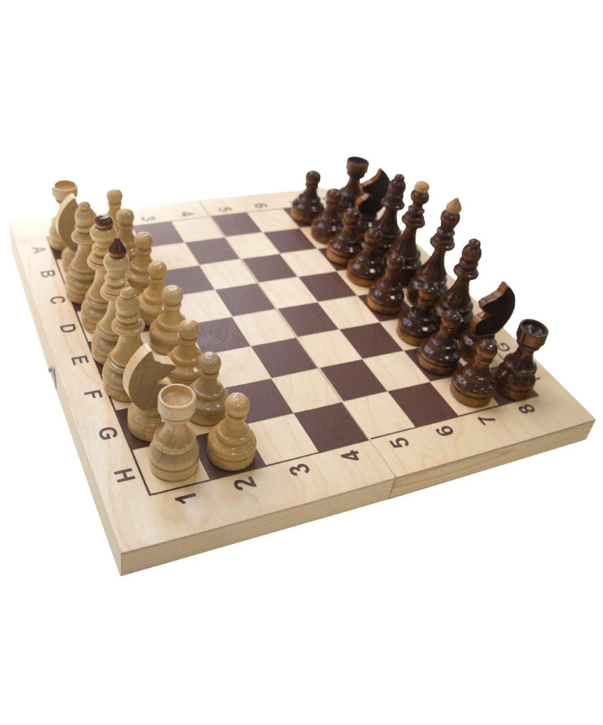Шахматы гроссмейстерские, лакированные  2771(Е-1) - 1
