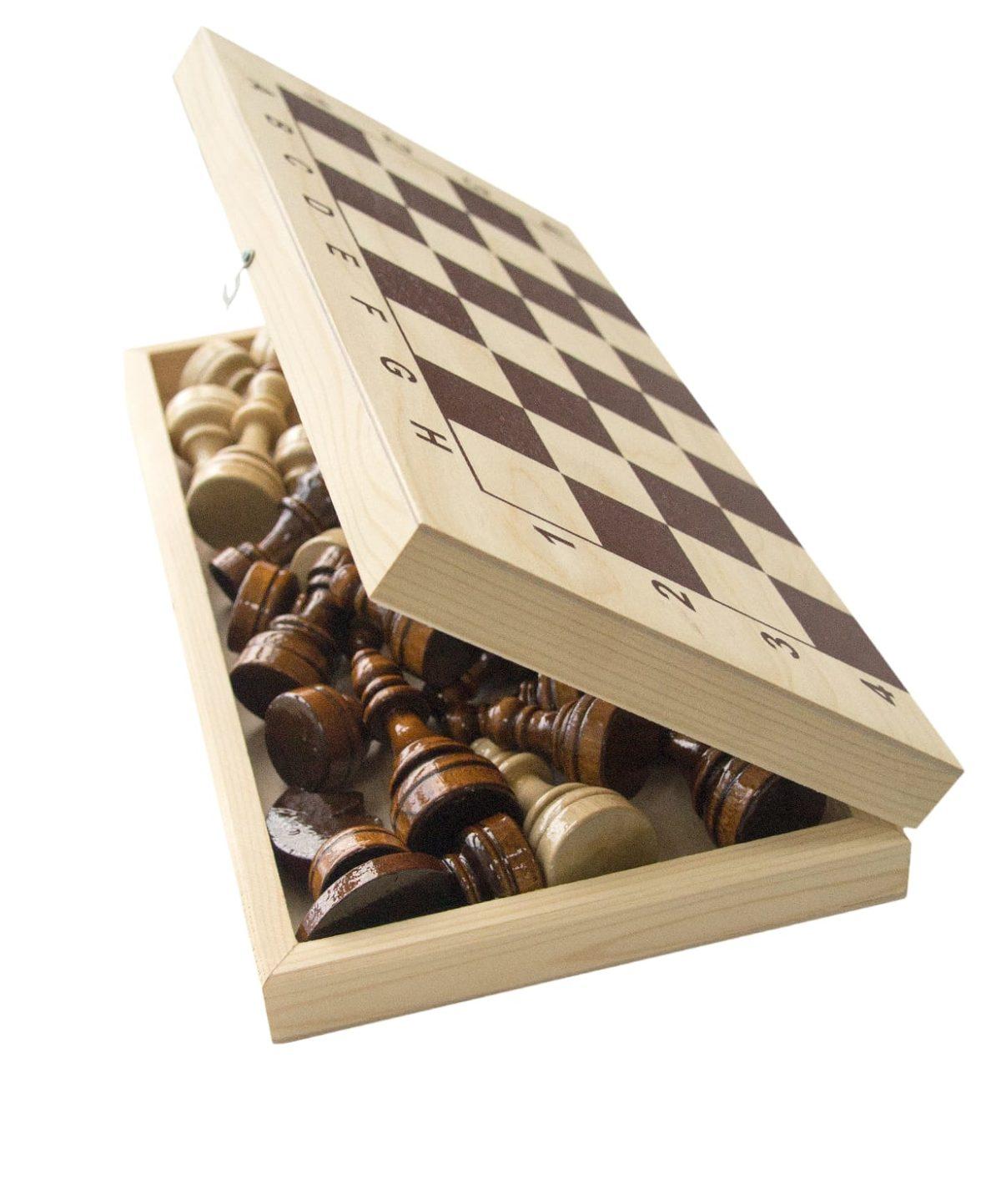 Шахматы гроссмейстерские, лакированные  2771(Е-1) - 2