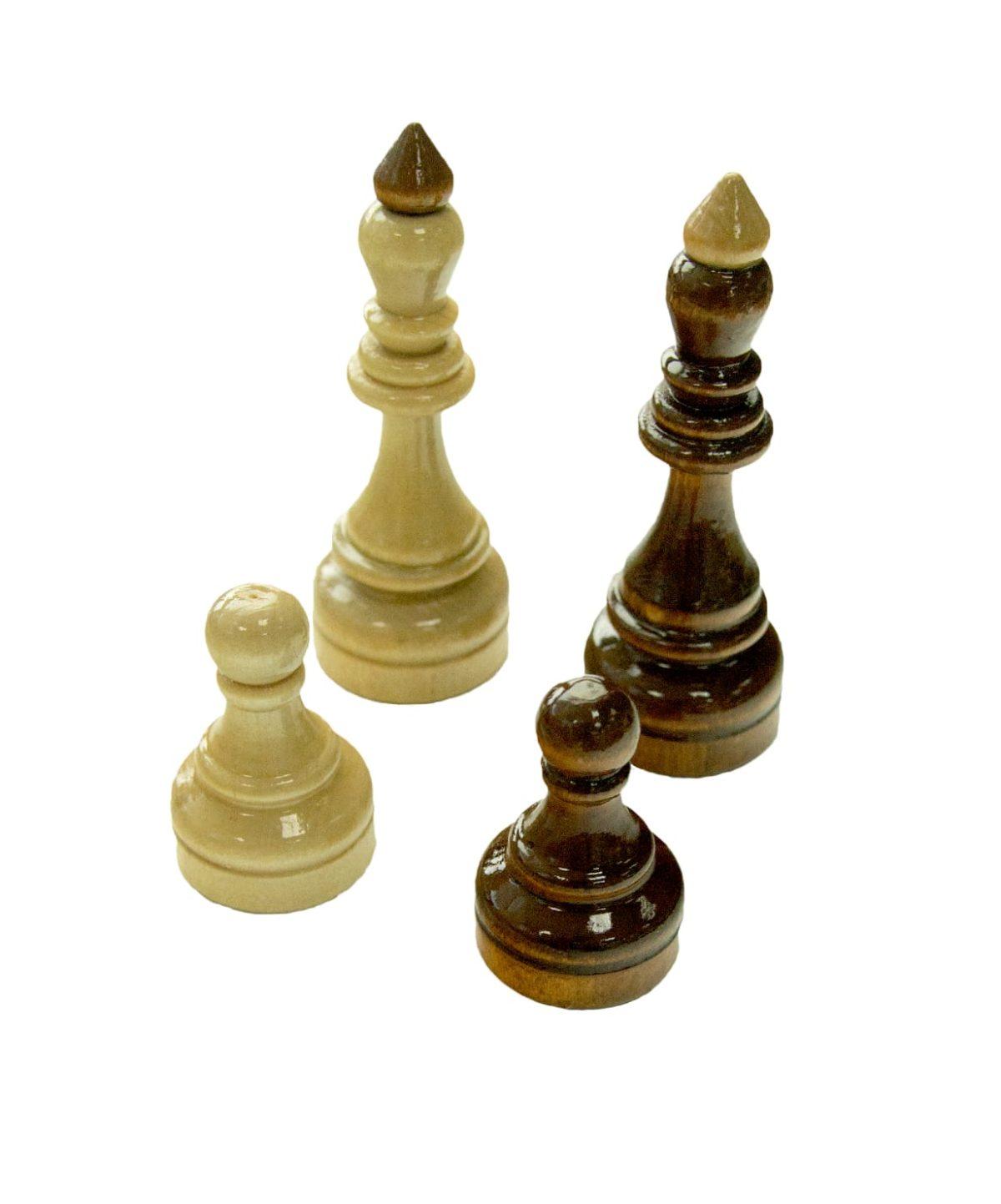 Шахматы гроссмейстерские, лакированные  2771(Е-1) - 3