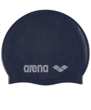 ARENA Шапочка для плавания Classic Silicone JR Denim/Silver  91670 71 - 19