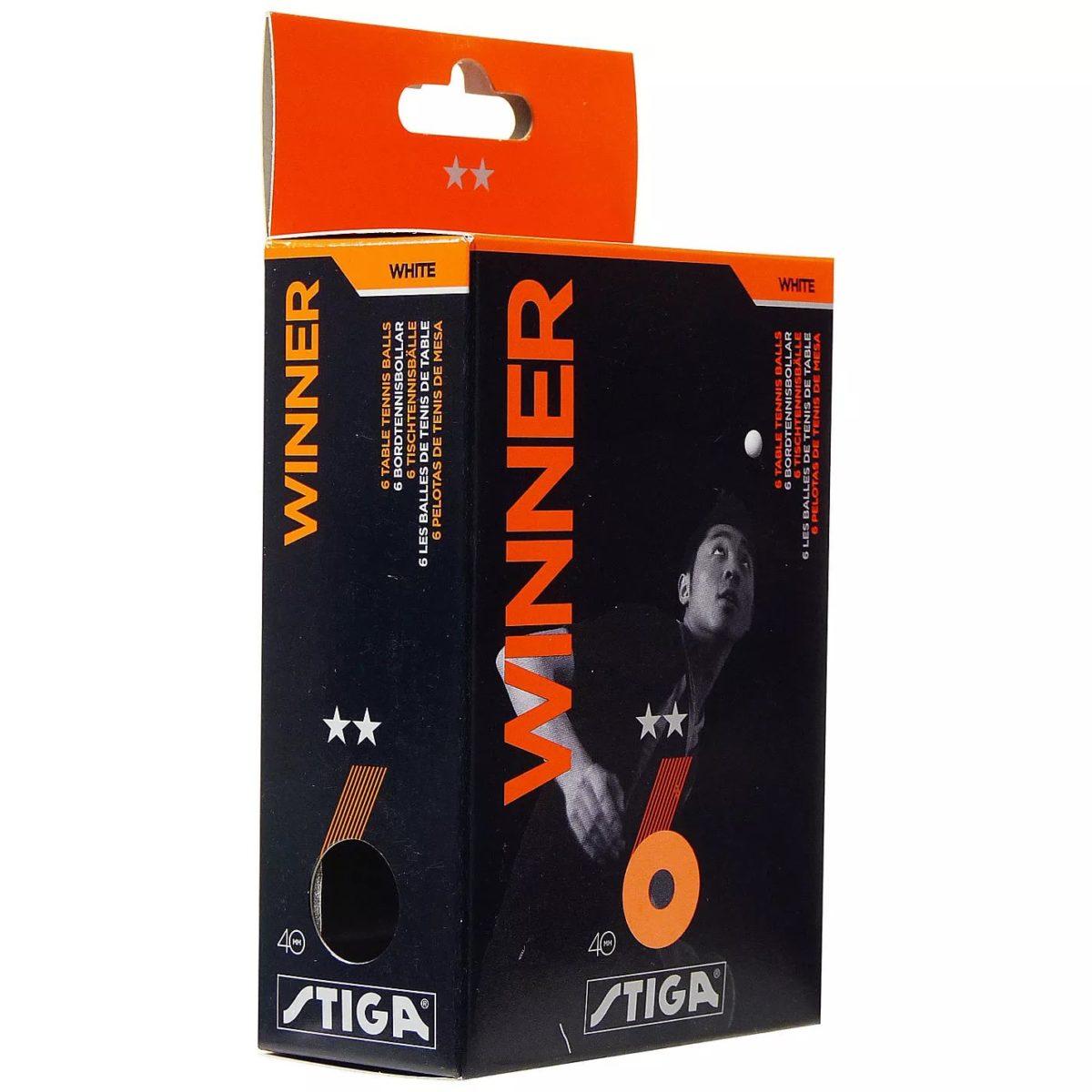 STIGA Winner 2** Мяч для настольного тенниса  5150-06 - 1