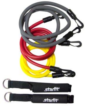 STARFIT Комплект съемных эспандеров с ручками ES-605 - 1