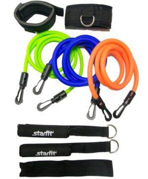 STARFIT Комплект съемных эспандеров с ручками расширенный ES-606 - 2