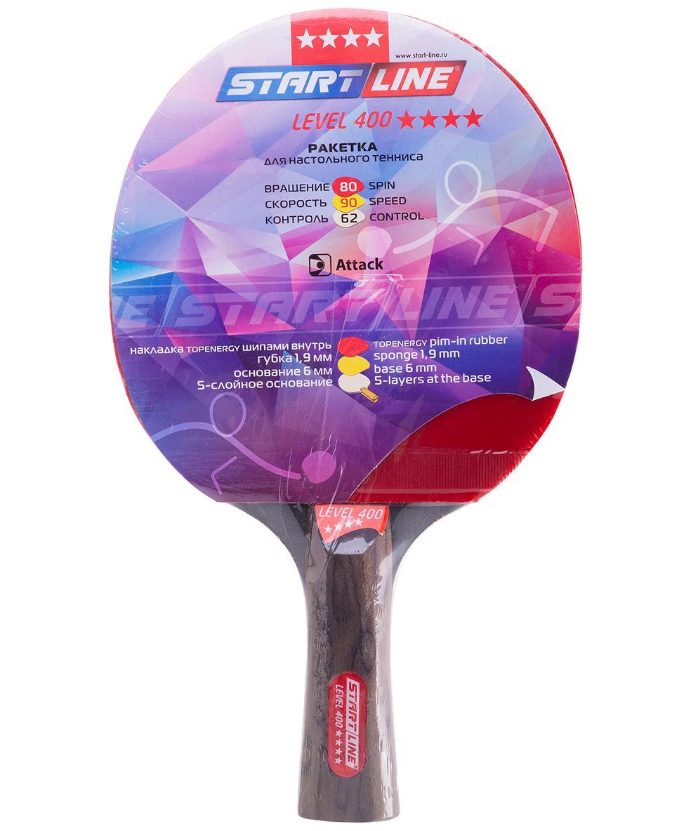 START LINE Level 400 ракетка для настольного тенниса - 1