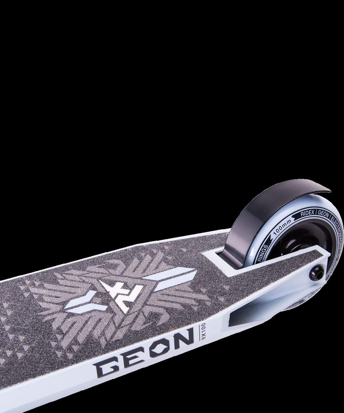 RIDEX Geon White самокат трюковый 100 мм - 4