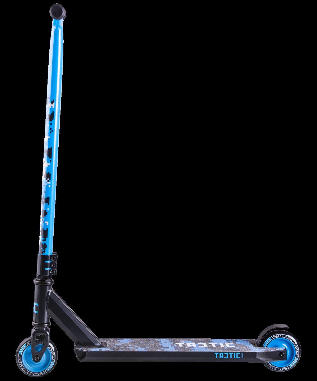 RIDEX Tactic Blue самокат трюковый 100 мм - 2
