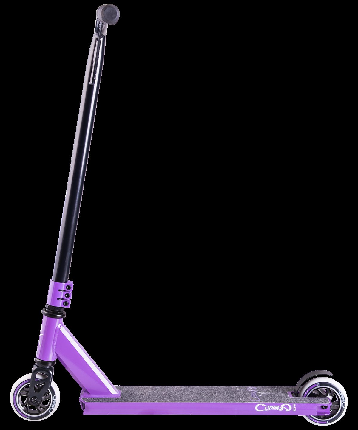 RIDEX Collision Purple самокат трюковый 100 мм - 4