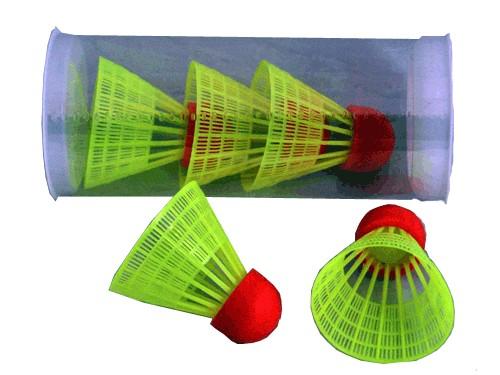 Волан пластиковый c резиновой головкой  01073 - 1