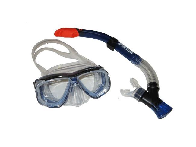 Набор для плавания ( маска+трубка ), взросл. - 1