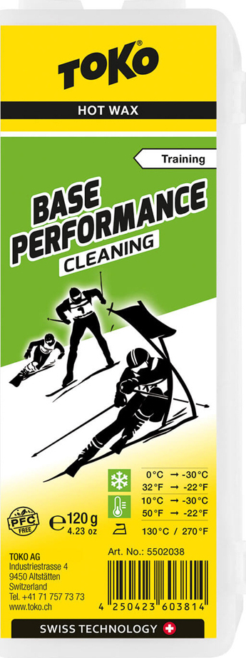 TOKO Парафин NF Base Peromance Cleaning 120 гр.  5502038 - 1
