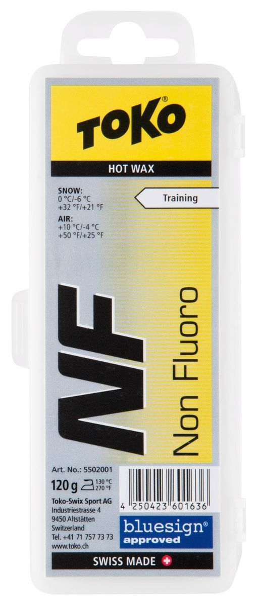 TOKO Парафин NF NF Hot Wax Yellow 120 гр. - 1