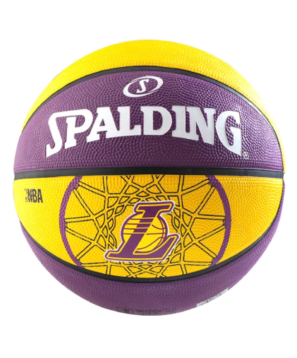 SPALDING Team Lakers мяч баскетбольный - 1