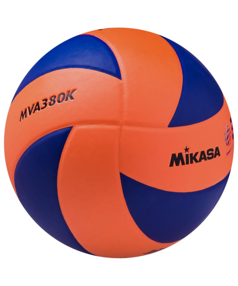MIKASA  Мяч волейбольный MVA380KOBL №5 - 1