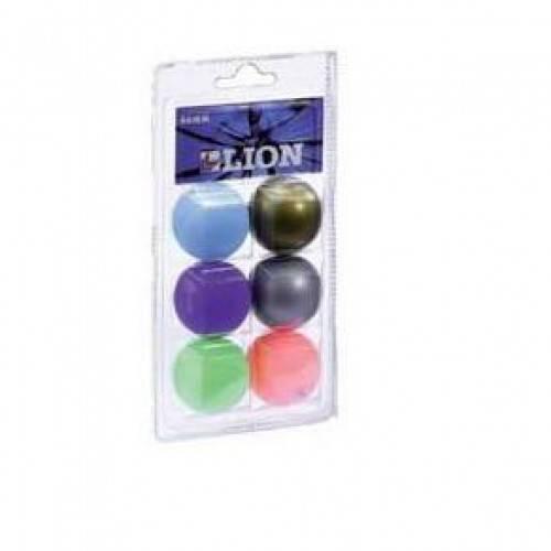 CLOSSY Мяч для настольного тениса  металик - 1