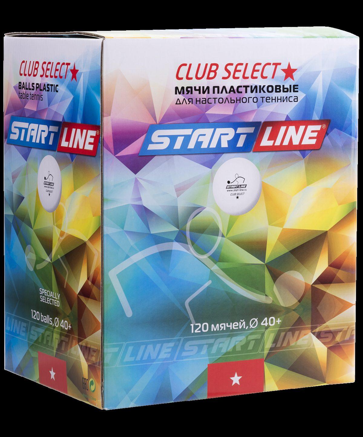 START LINE 1* Club Select мяч для настольного тениса - 2