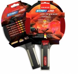 START LINE Level 500 Ракетка для настольного тенниса,прямая  12605 - 1
