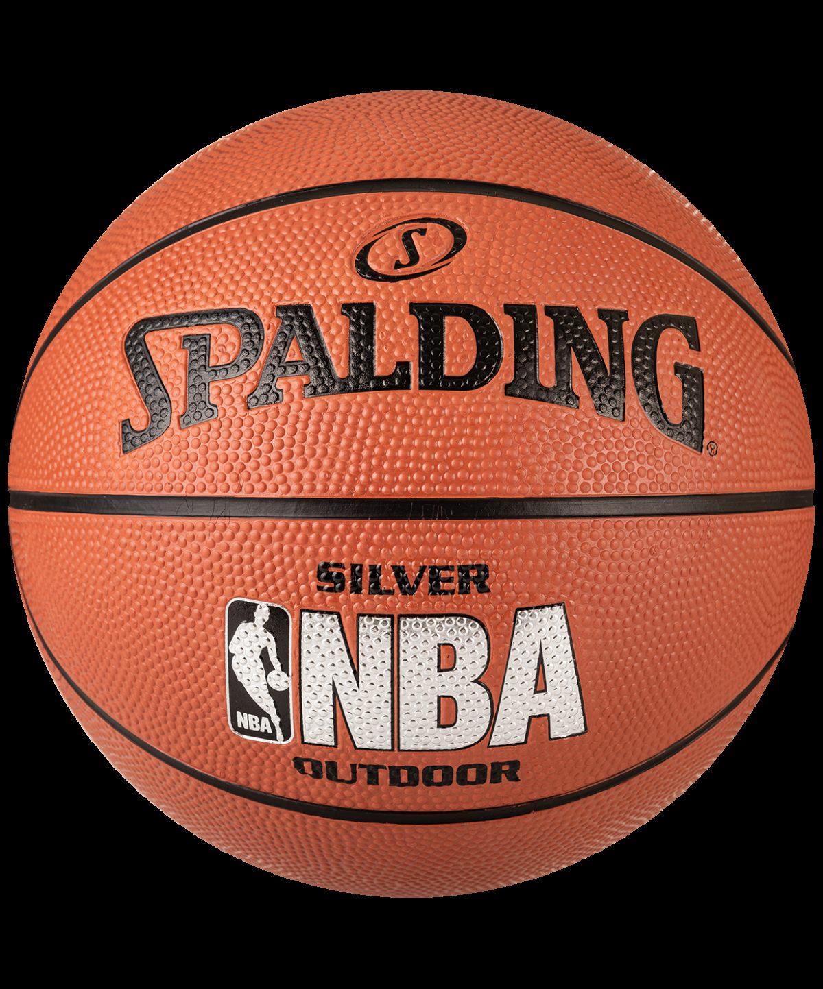 SPALDING NBA Silver Мяч баскетбольный  83016Z №7 - 1