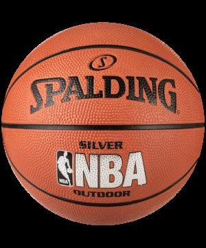 SPALDING NBA Silver Мяч баскетбольный  83016Z №7 - 14